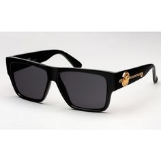 d47971d628a Miguel Wears Versace Vintage 372 Gold Medusa Head Sunglasses at Made In  America Festival