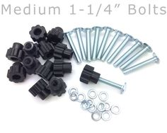 Pet Carrier Bolt Fasteners - Black Nylon Nuts * Read more reviews of the product by visiting the link on the image. (This is an affiliate link and I receive a commission for the sales)