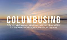 #new words which should be implemented - columbusing