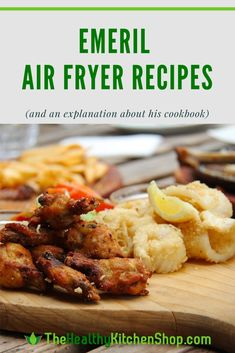 Everyone's looking for Emeril air fryer recipes, so we've got the full list for you - plus an explanation to clear up the confusion about his cookbook. lagasse air fryer recipe Emeril Air Fryer Recipes (Plus We've Got The Scoop On His Cookbook) Air Fryer Recipes Chips, Air Fryer Recipes Vegetables, Air Fryer Recipes Low Carb, Air Frier Recipes, Air Fryer Recipes Breakfast, Okra Recipes, Cookbook Recipes, Cooking Recipes, Healthy Recipes