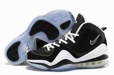 271035bdbba48 2015 For Sale Air Penny Hardaway 5 V Mens Shoes Discount Black White…