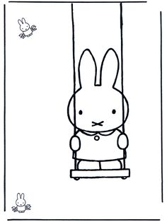 Miffy color page. Cartoon characters coloring pages. Coloring pages for kids. Thousands of free printable coloring pages for kids! Cartoon Coloring Pages, Coloring Book Pages, Printable Coloring Pages, Coloring Sheets, Kids Cartoon Characters, Cartoon Kids, Book Cover Design, Book Design, Miffy