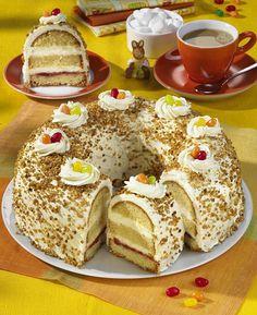 Unser beliebtes Rezept für Frankfurter Kranz mit Zuckereier und mehr als 55.000 weitere kostenlose Rezepte auf LECKER.de.