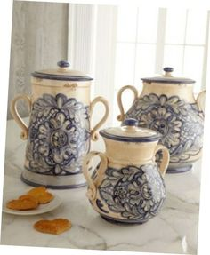 How To Buy Kitchen Canister Sets:Amazing Ceramic Kitchen Canister Sets  Designu2013picture Of Kitchen Canister Set Beach