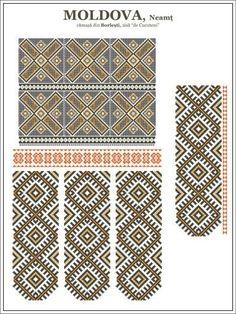 Folk Embroidery Tutorial Semne cusute: ie de Cucuteni Hungarian Embroidery, Crewel Embroidery, Embroidery Patterns, Machine Embroidery, Cross Stitch Borders, Cross Stitch Patterns, Mochila Crochet, Moldova, Antique Quilts