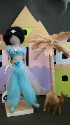 Felt Dolls, Felt Art, Felt Crafts, Needle Felting, Mermaids, Wool Felt, Fairies, Dinosaur Stuffed Animal, Angels