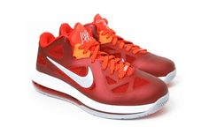 "Nike LeBron 9 Low ""Team Red"""