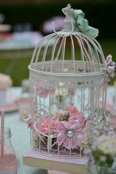 Vintage Tea Birthday Party Ideas | Photo 11 of 20 | Catch My Party