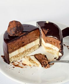 Tiramisu Entremet - layers of coffee, mascarpone and chocolate come together into one amazing!
