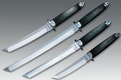 "#TangSooDo Dan Gum blades from @Coldsteelknives: Master Tanto 6""; Magnum Tanto II 7.5"";	Magnum Tanto IX 9""; Magnum Tanto XII 12"" These are our preferred Dan Gum for advanced training & cutting purposes at River Valley Tang Soo Do"