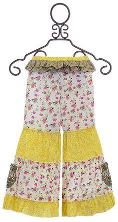 Mustard Pie Spring Pixie Pants for Girls
