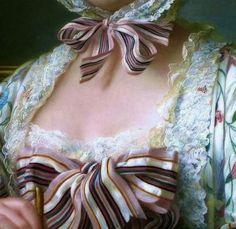 Francois-Hubert Drouais, Madame de Pompadour at her Tambour Frame. 18th Century Clothing, 18th Century Fashion, 17th Century, Fashion History, Fashion Art, Fashion Design, Mode Renaissance, Madame Pompadour, Pompadour Fade