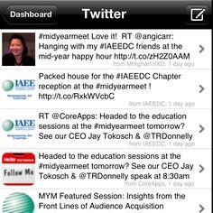 IAEE Midyear Meeting twitter feed