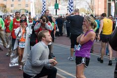 omg can someone please propose to me after I complete a marathon?!?! That's just the type of girl I am.