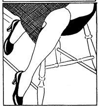 Favorite Vintage Advice: Make Your Feet Behave