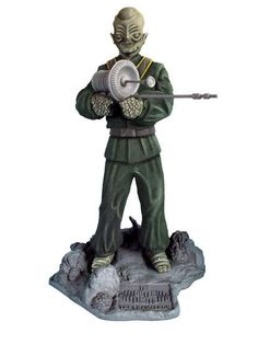 """Outer Limits The Chameleon Resin Model Kit:From the classic T.V. series """"The Outer Limits"""" comes this great rendition of the main character in model kit form. Solid, pressure-cast polyurethane resin."""