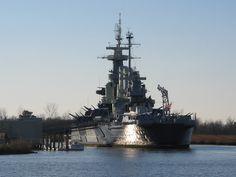 Downtown Wilmington, NC North Carolina Battleship {photo credit: Shannon Lee}