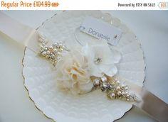 Rustic  Champagne wedding dress belt,Bridal sash, Bridal belt, Wedding belt, Wedding sash belt, , Bridal belt, Vintage bridal sash -  LORA