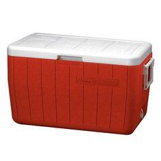 Coleman 48 Quart Red Personal Cooler 3000000154NP