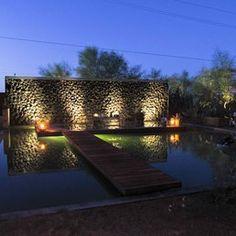 Mojave Sands Motel - Joshua Tree, CA, United States. Reflecting Pool