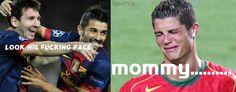zaview sports: zone troll: Messi vs Ronaldo