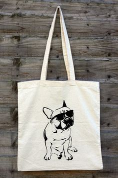 Check out this item in my Etsy shop https://www.etsy.com/listing/196447798/tote-bag-french-bulldog-stencil-hand