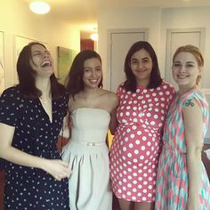 Lauren, Christian, Alanna, and Alexandra.