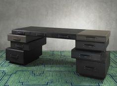 leather furniture desk design