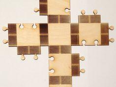 cnc cut lattice hinge plywood - Google Search