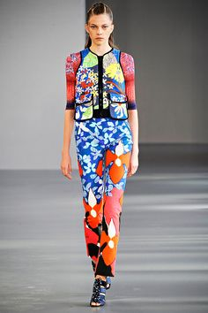 Peter Pilotto Spring 2012 — Runway Photo Gallery — Vogue