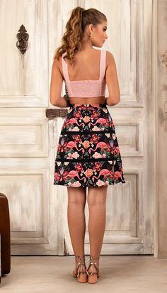 Home page | Antix Waist Skirt, High Waisted Skirt, Ideias Fashion, Two Piece Skirt Set, Top, Floral, Skirts, Ariana Grande, Dresses