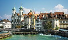 Lucerne, Switzerland....one of the most beautiful places I've visited...great time with my mom! Jlou