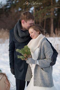 свадьба зимой, зимняя свадьба, зима, свадьба, невеста зимой, жених зимой, жених и невеста зима
