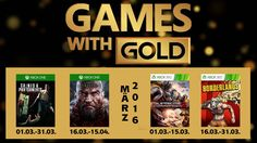 Games with Gold - März 2016