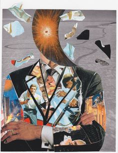 jesse treece collage interview nailed magazine kevin sampsell
