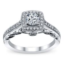 Designer Vintage Engagement Rings at Robbins Brothers