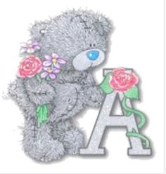 ❤️Me to You Bears ~ Letter A