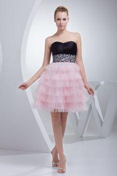 Pink+Black. A nice party cum prom dress €159,00