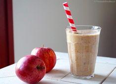 Appel-kaneel smoothie  (suikervrij, zuivelvrij)