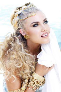 Miss USA 2012-Grecian Photoshoot.    The beautiful #MissArizonaUSA 2012 major #pageantinspiration, #pageantry #pageantprep