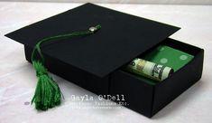 I LOVE this Graduation gift box.