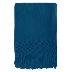 Mulberi Tropica Throw Mosaic Blue