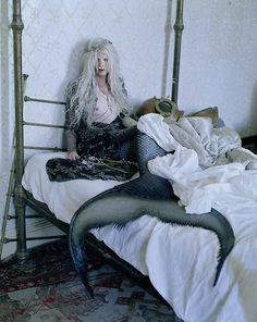 Kristen McMenamy for W by Tim Walker, December 2013