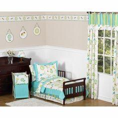 Sweet Jojo Designs Layla 5 Piece Toddler Bedding Set