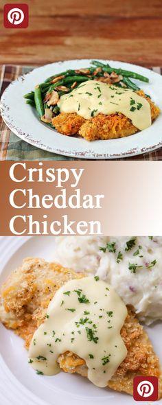 Crispy Cheddar Chicken - Nurizelia Foods