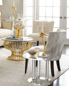 Shop Anthony Acrylic Side Table at Horchow, where you'll find new lower shipping on hundreds of home furnishings and gifts. Luxury Home Decor, Luxury Homes, Luxury Interior, Acrylic Side Table, Table Haute, Hotel Restaurant, Contemporary Coffee Table, Decorating Coffee Tables, Online Furniture
