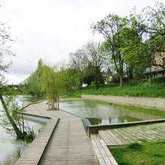 Perreux river banks -  BASE landscape architecture #landscapearchitecturepark