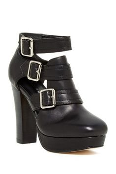 847b301af5f Madison Harding Faith Leather Bootie Leather Booties