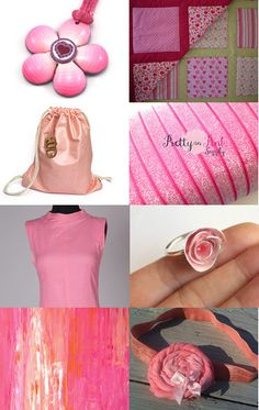 My pink sheath is in this etsy treasury #vintage #1960s #etsy #fashion