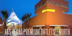 Las Vegas Premium Outlets - North...shopping stop 1 :)